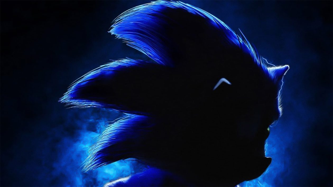 Movie Poster 2019: Sonic The Hedgehog: Movie First Look