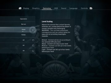 Level Scaling Setting